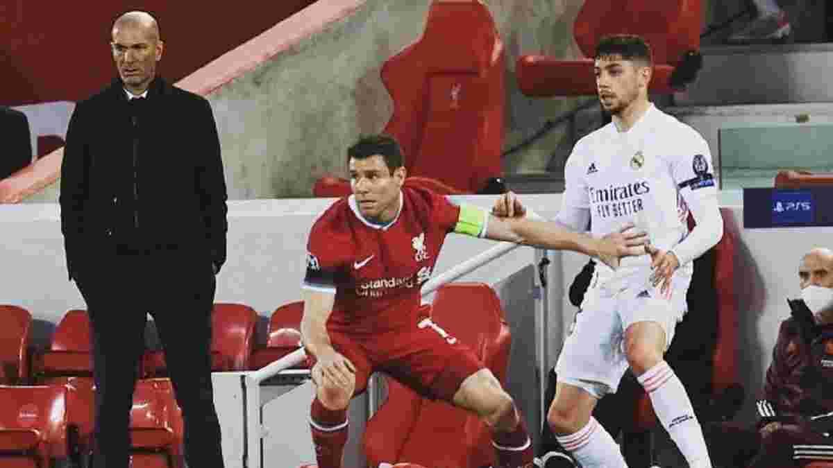 Ливерпуль оборвал рекордную серию Реала в Лиге чемпионов