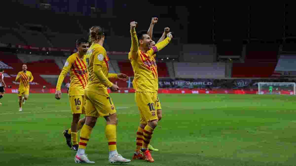 Атлетік – Барселона – 0:4 – відео голів і огляд матчу