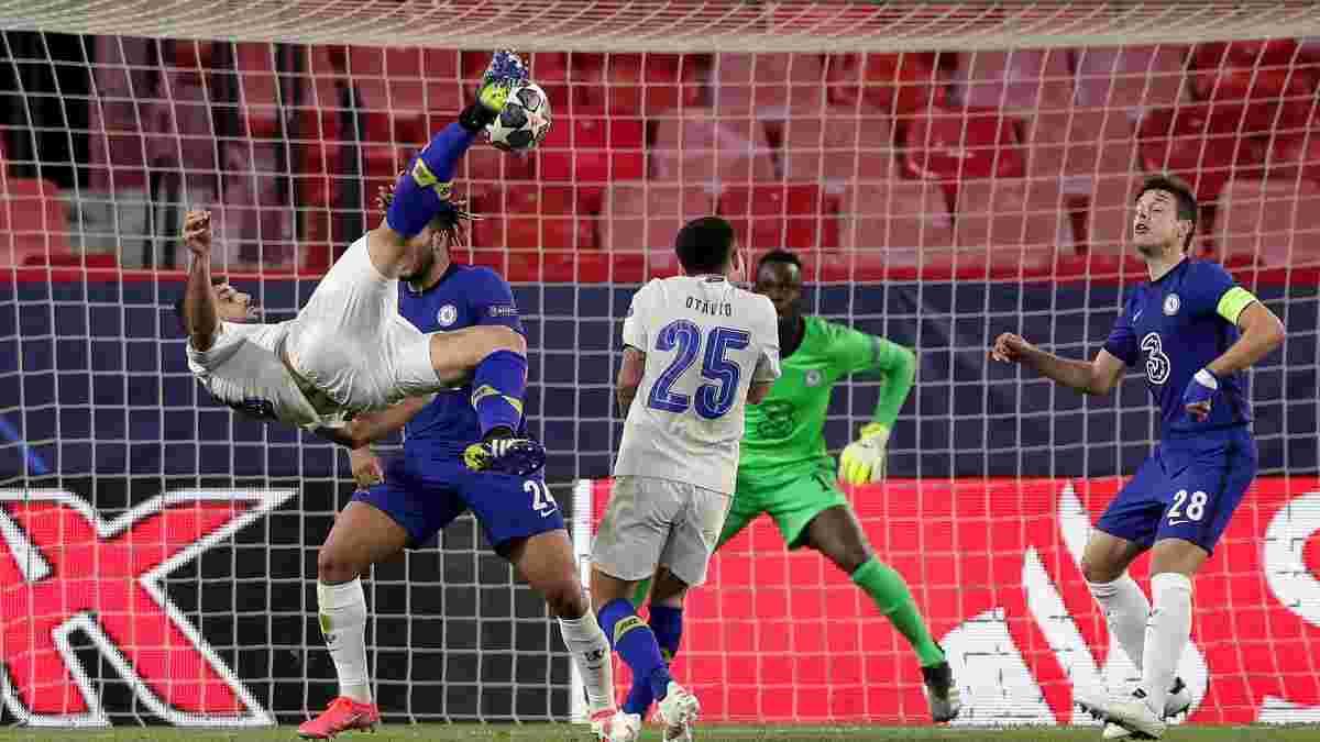 Бесполезный шедевр стал лучшим голом недели в Лиге чемпионов