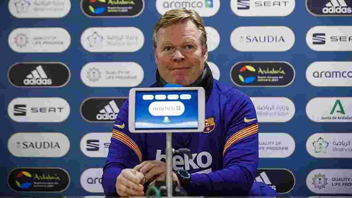 Куман рассказал о состоянии Месси и Пике накануне финала Кубка Испании – ситуации у звезд разные