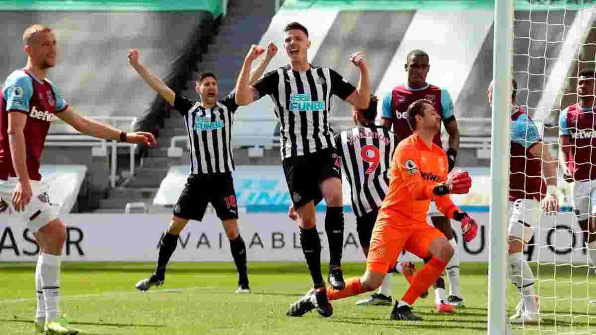 Шеффилд Юнайтед досрочно вылетел из АПЛ, Ньюкасл удержал победу над Вест Хэмом в перестрелке с пятью голами