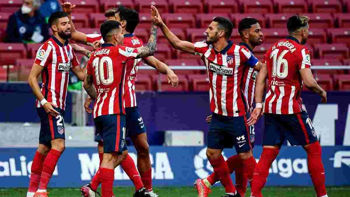 Атлетико – Эйбар – 5:0 – видео голов и обзор матча