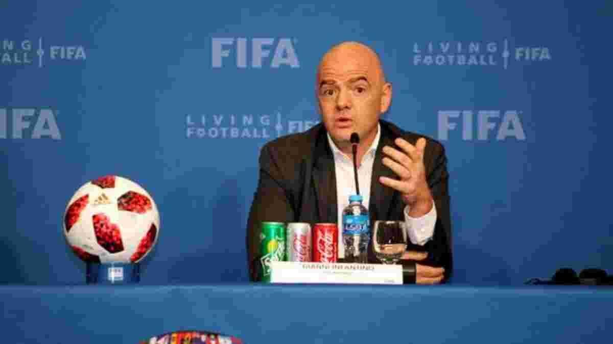 ФІФА виступила з офіційною заявою через створення Європейської Суперліги