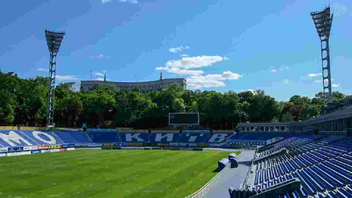 Динамо вслед за Шахтером объявило о замене газона на домашнем стадионе