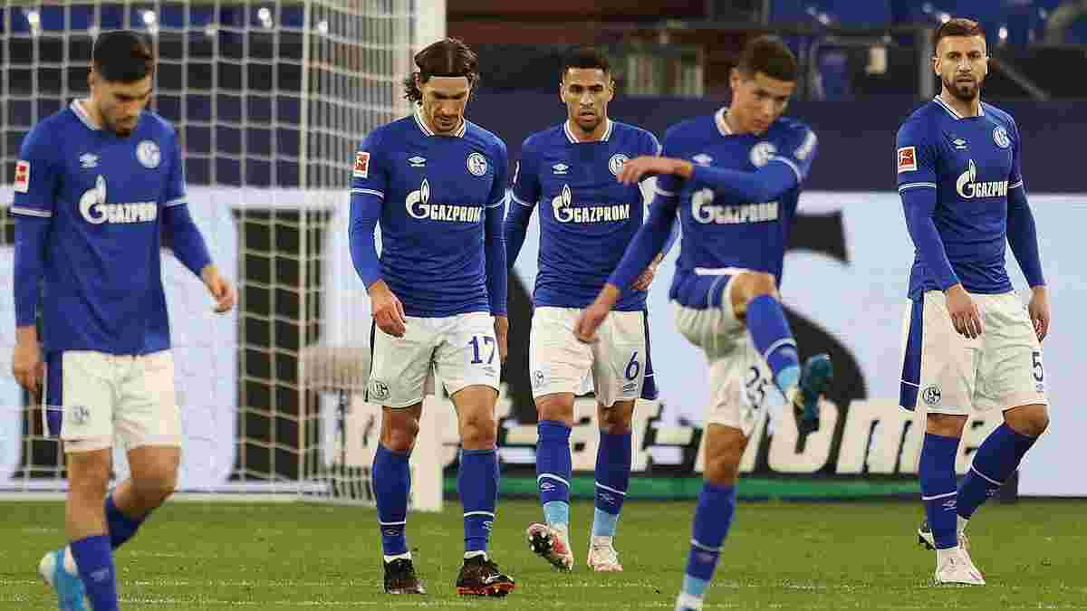 """Фанати Шальке побили гравців після ганебного вильоту з Бундесліги – команді обіцяють """"пекло"""""""