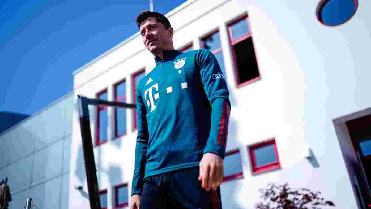 Лєвандовскі повернувся до тренувань у загальній групі Баварії
