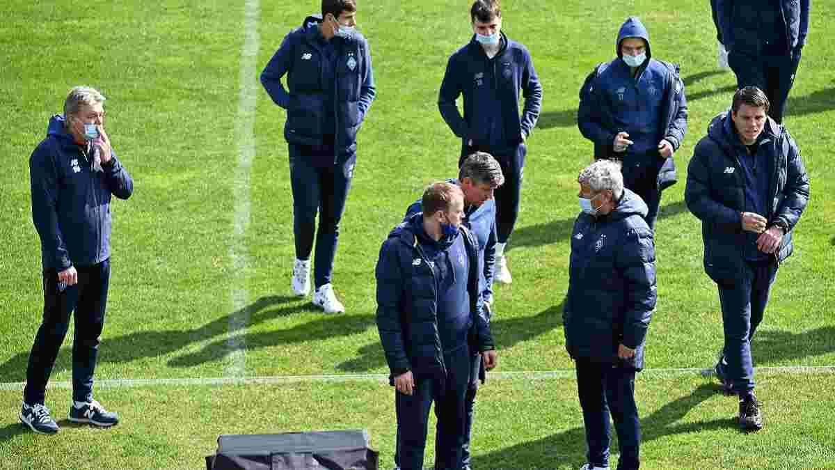 Агробизнес – Динамо: Луческу похвалил соперника, объяснил быструю замену Тымчика и предложил изменения в Кубке Украини