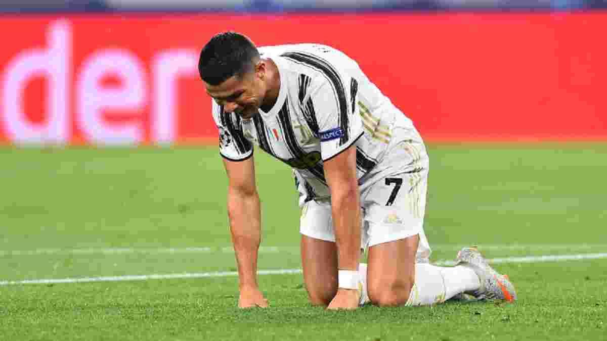Роналду знову ховав обличчя від м'яча і призвів до гола у ворота Ювентуса – зірка забув гіркий виліт з Ліги чемпіонів