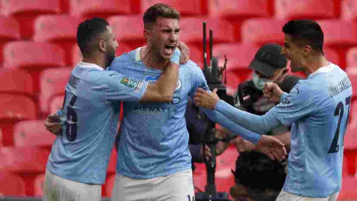 Манчестер Сити минимально одолел Тоттенхэм и завоевал Кубок лиги – первый трофей сезона для Гвардиолы и Зинченко