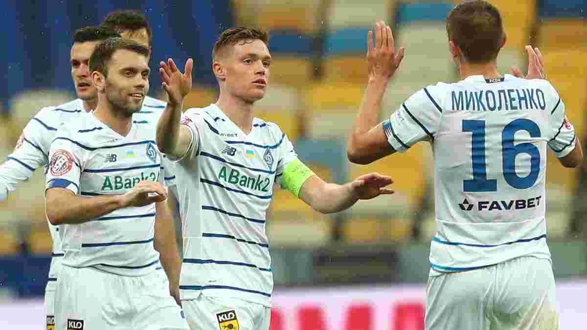 Чемпионская разгромная победа киевлян в видеообзоре матча Динамо – Ингулец – 5:0