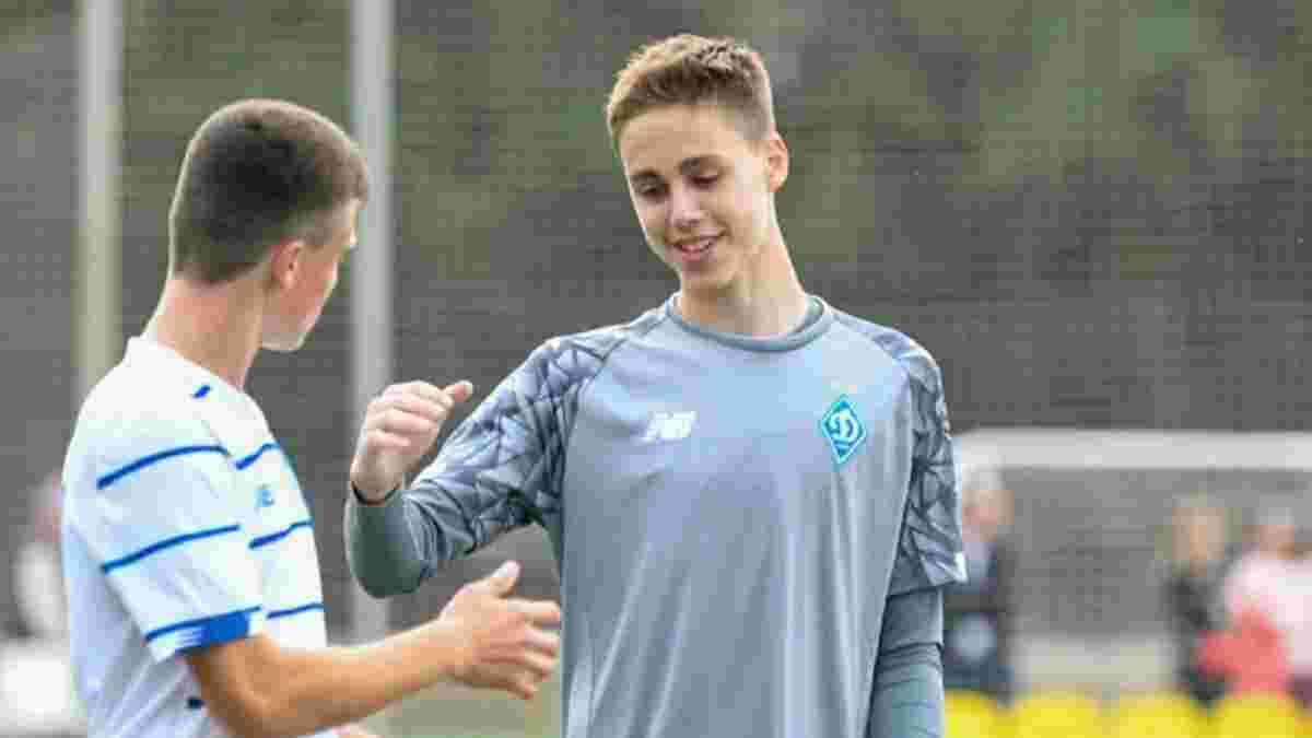 Син Суркіса знову відбив пенальті в матчі Динамо U-15 – відео ефектного сейву голкіпера