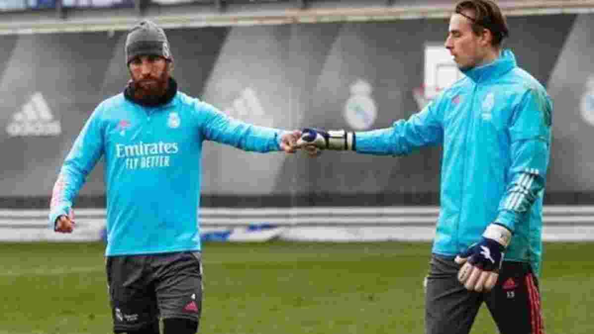 """""""Суперкапитан"""": Лунин объяснил, почему Рамос – настоящая икона для Реала"""