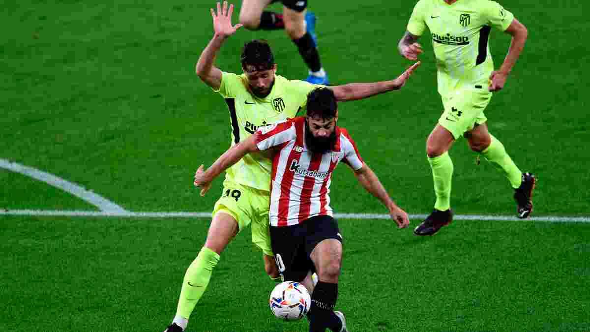 Атлетіко зазнав поразки від Атлетіка, Севілья перемогла Гранаду й закрутила інтригу в битві за чемпіонство