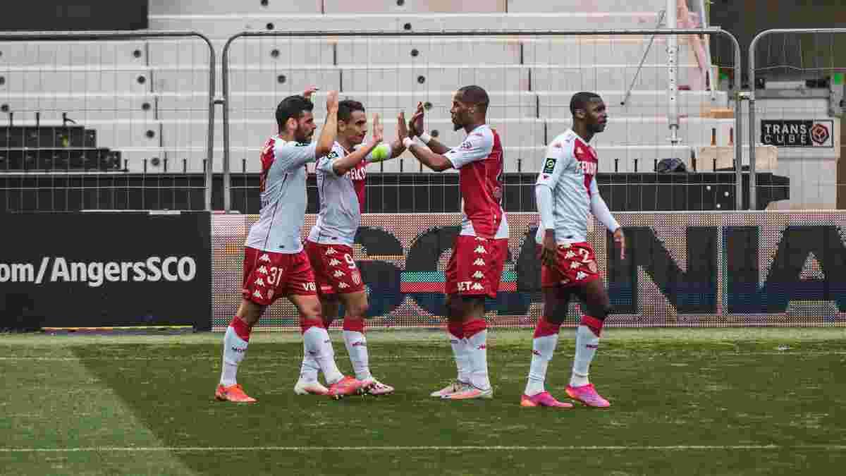 Лига 1: Монако стал главным преследователем ПСЖ, Дижон с позором вылетел в низший дивизион