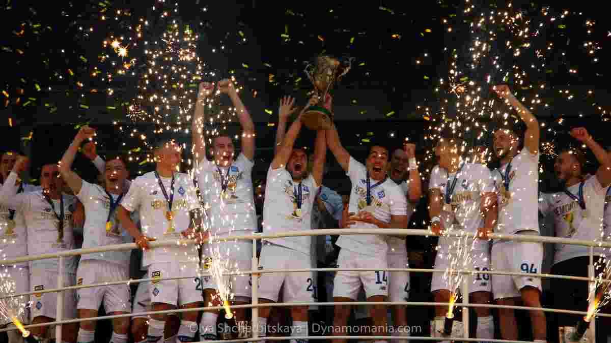 Динамо гучно відсвяткувало чемпіонство – команду привітав перший президент України