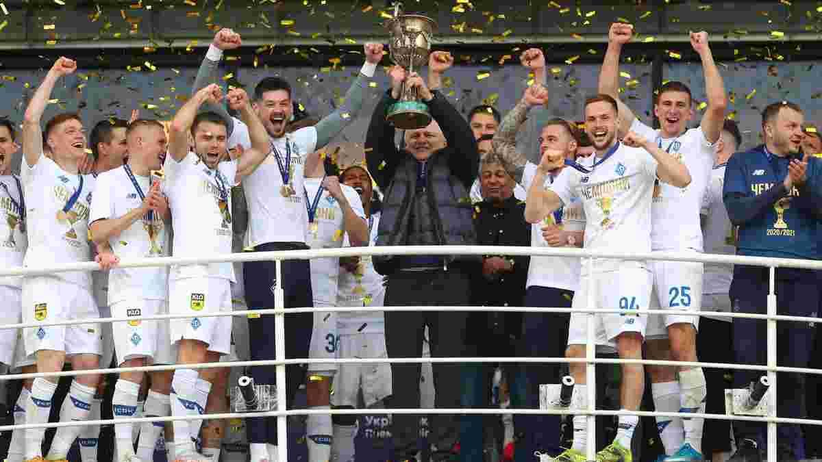 Суркіс прокоментував чемпіонство Динамо – майбутнє Луческу, присвята батьку і підсилення під Лігу чемпіонів