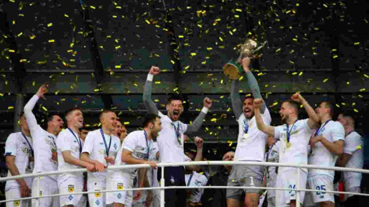 Фанати зустріли гравців Динамо на тренувальній базі – запальне привітання з чемпіонством