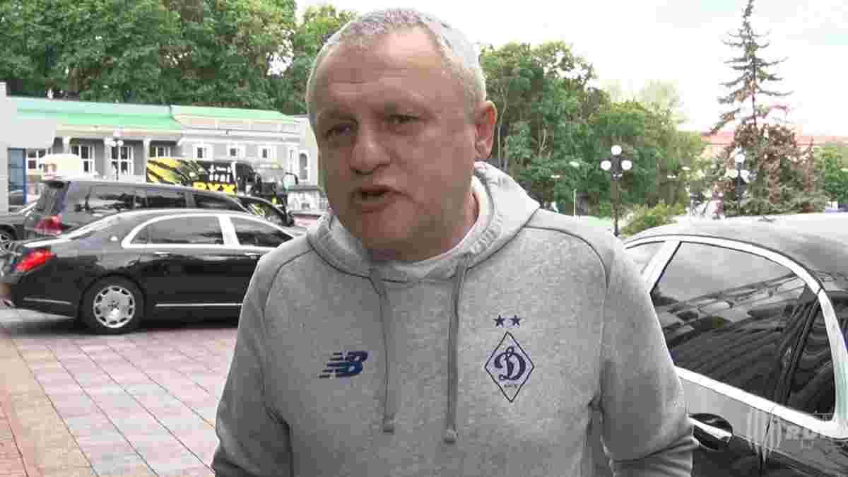 Суркіс: Ахметов першим привітав мене з чемпіонством Динамо