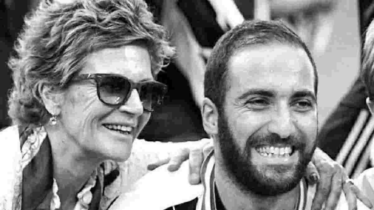 Мати Ігуаїна померла від раку – заради неї нападник був готовий покінчити з футболом