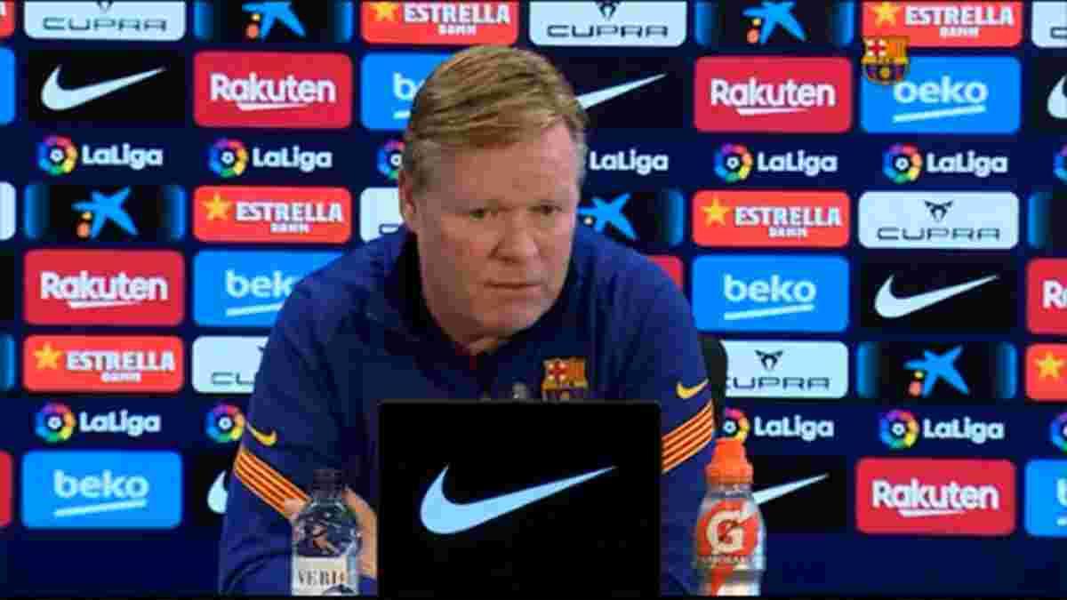 Куман предостерег игроков Барселоны перед матчем с Гранадой – каталонцы могут вырваться на первое место в Ла Лиге