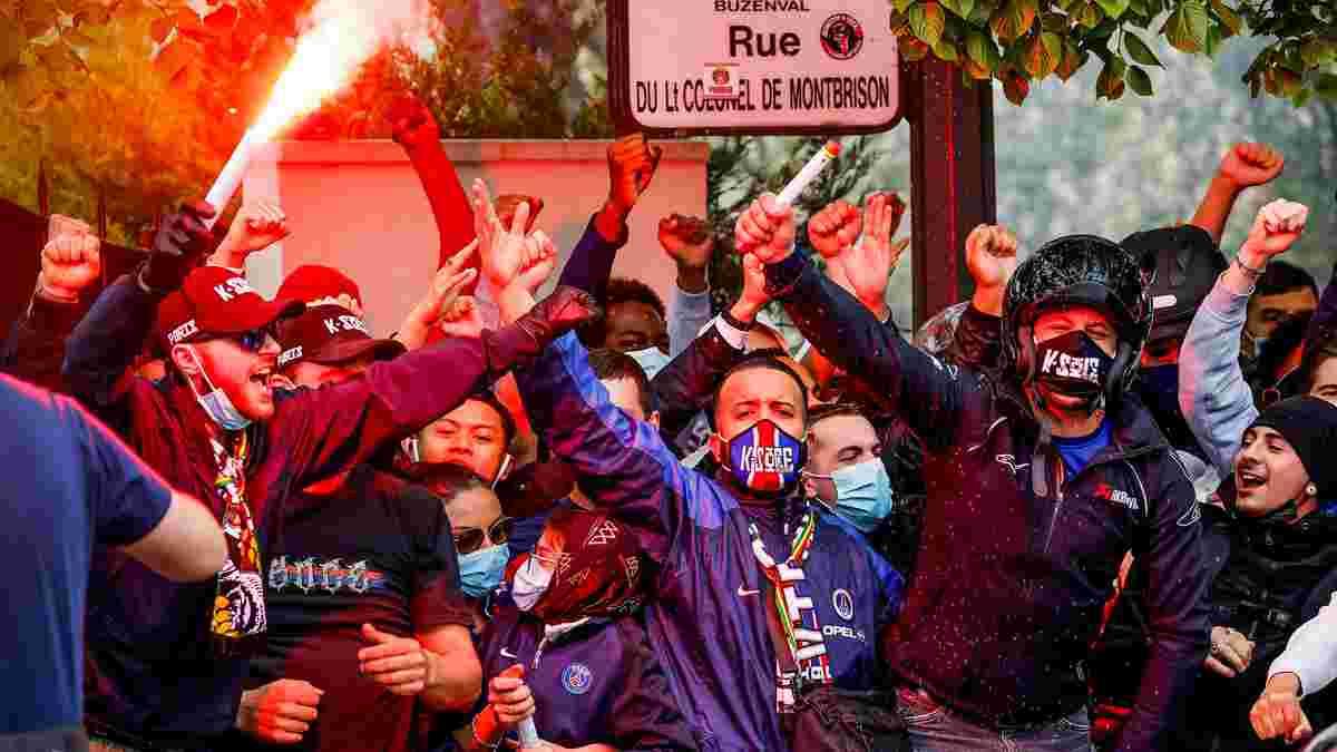 ПСЖ – Манчестер Сіті: фанати парижан потужно мотивували гравців перед півфіналом ЛЧ