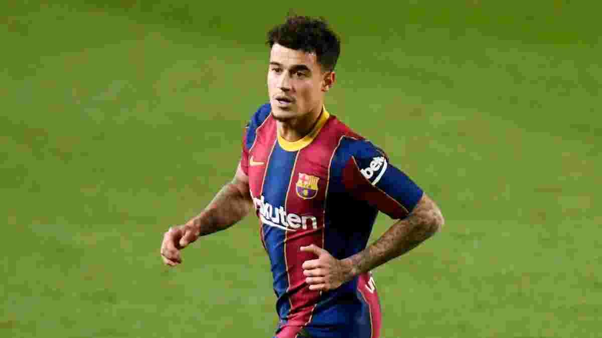 """Евертон сподівається підписати Коутінью – """"іриски"""" пропонують значно меншу суму, ніж платила Барселона"""