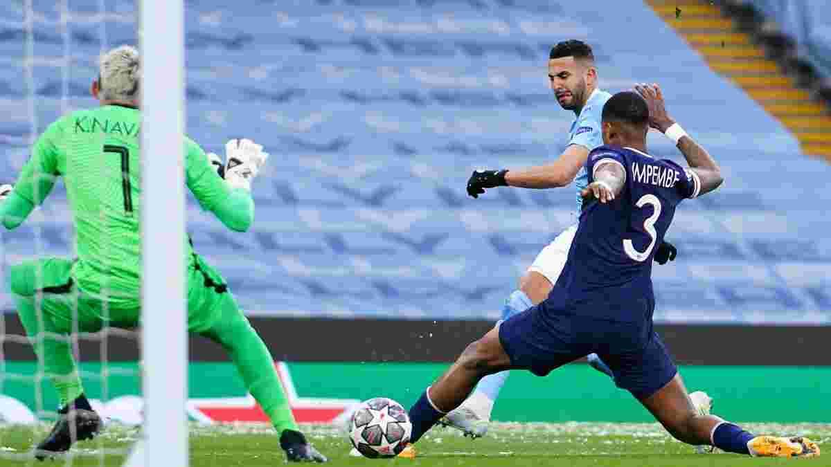 Манчестер Сити – ПСЖ – 2:0 – видео голов и обзор матча