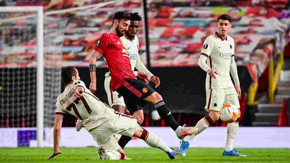 Доминация Манчестер Юнайтед и единственное светлое пятно Ромы – УЕФА объявил команду недели в Лиге Европы