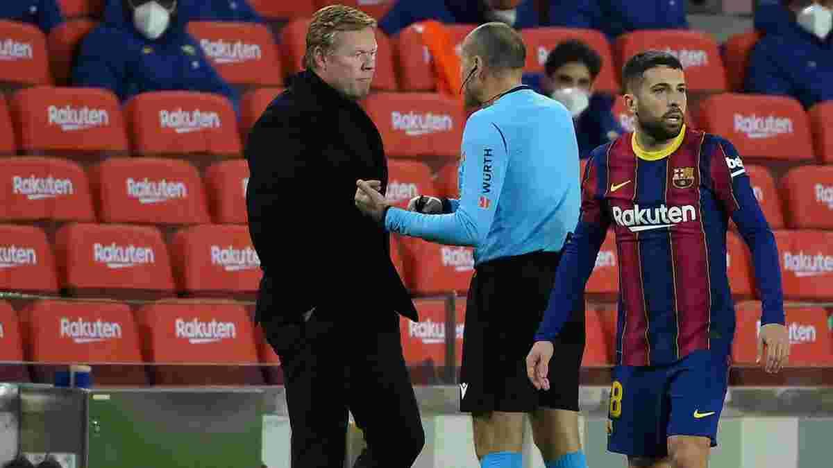 Куман отримав додаткову дискваліфікацію за образу арбітра – тренер Барселони пропустить ключові матчі Ла Ліги