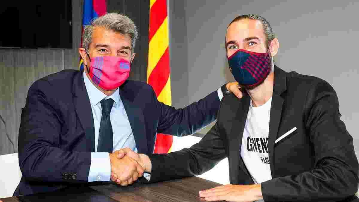 Барселона продовжила контракт з відкриттям нинішнього сезону, встановивши солідні відступні