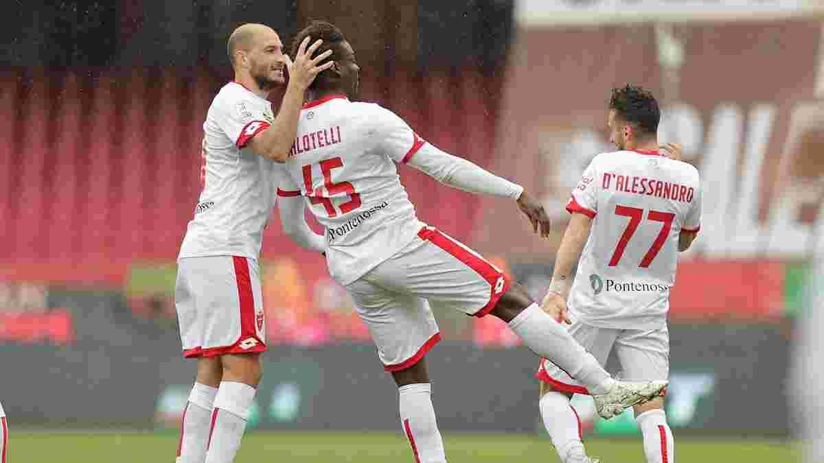 Балотеллі перевернув сценарій матчу за 10 хвилин – дубль опального форварда наблизив Монцу до Серії А