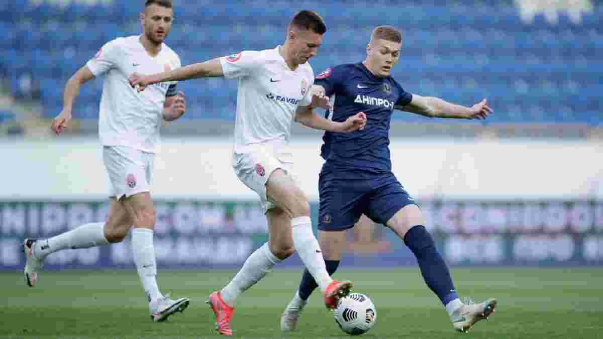 Незвичний штрафний, грубий фол і бронза луганців у відеоогляді матчу СК Дніпро-1 – Зоря – 0:1