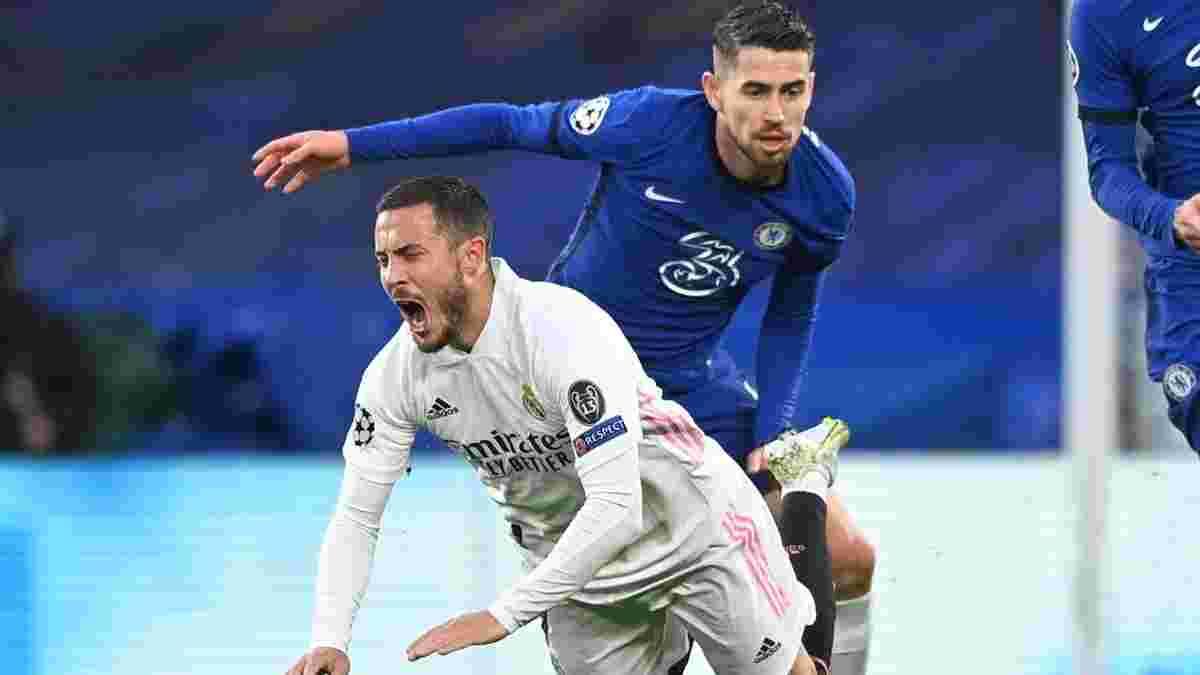 Челси – Реал: Азар со смехом воспринял вылет мадридцев в шаге от финала Лиги чемпионов – странное поведение бельгийца