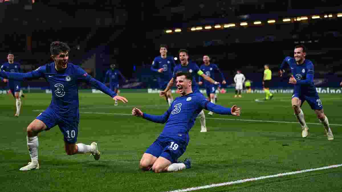 Челсі – Реал: Маунт повторив досягнення Руні 10-річної давнини у Лізі чемпіонів