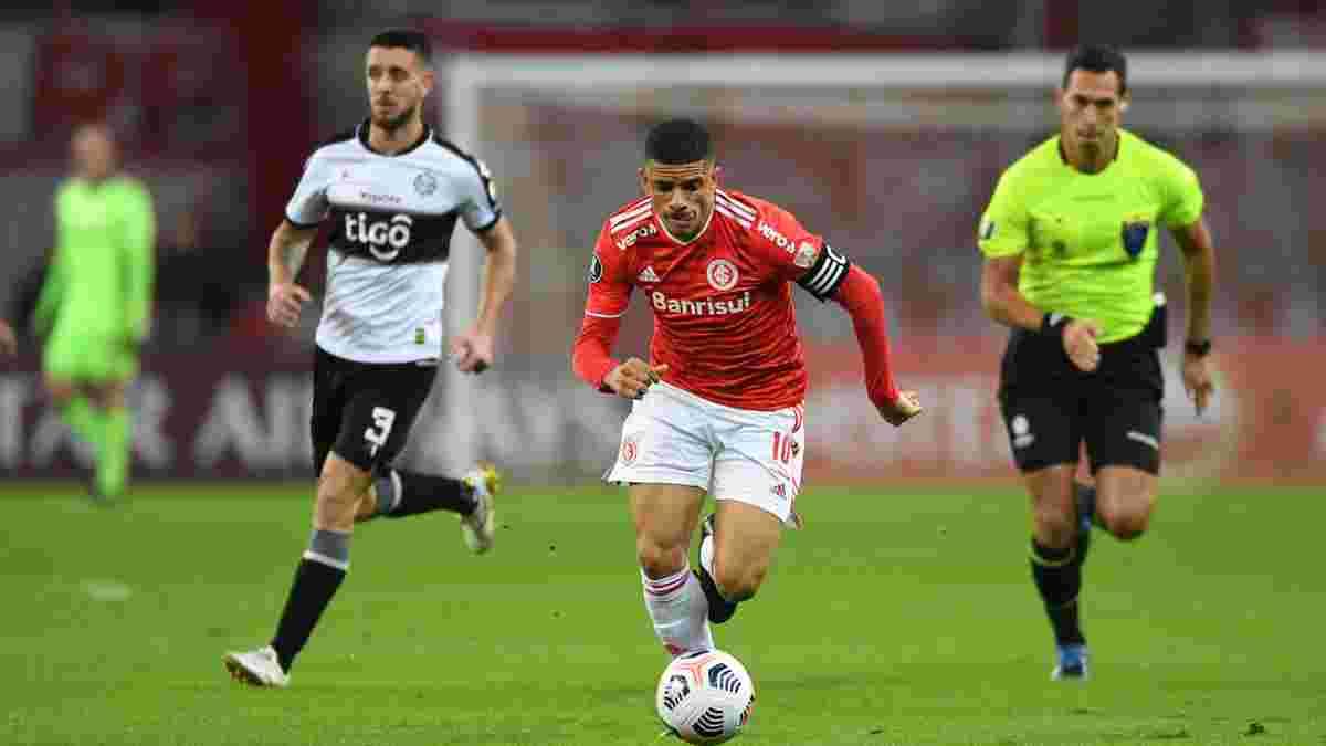 Тайсон став капітаном у дебюті за Інтернасьйонал в Кубку Лібертадорес – розгром суперника з голом екс-зірки Динамо