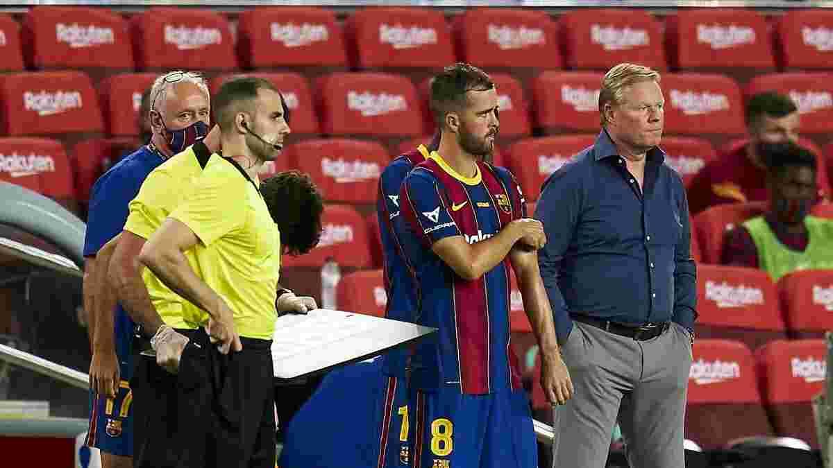 Барселона может отпустить Пьянича и уже получила несколько вариантов