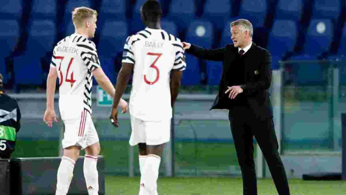 """""""Это была странная игра"""": Сульшер остался недоволен выступлением Манчестер Юнайтед несмотря на выход в финал Лиги Европы"""