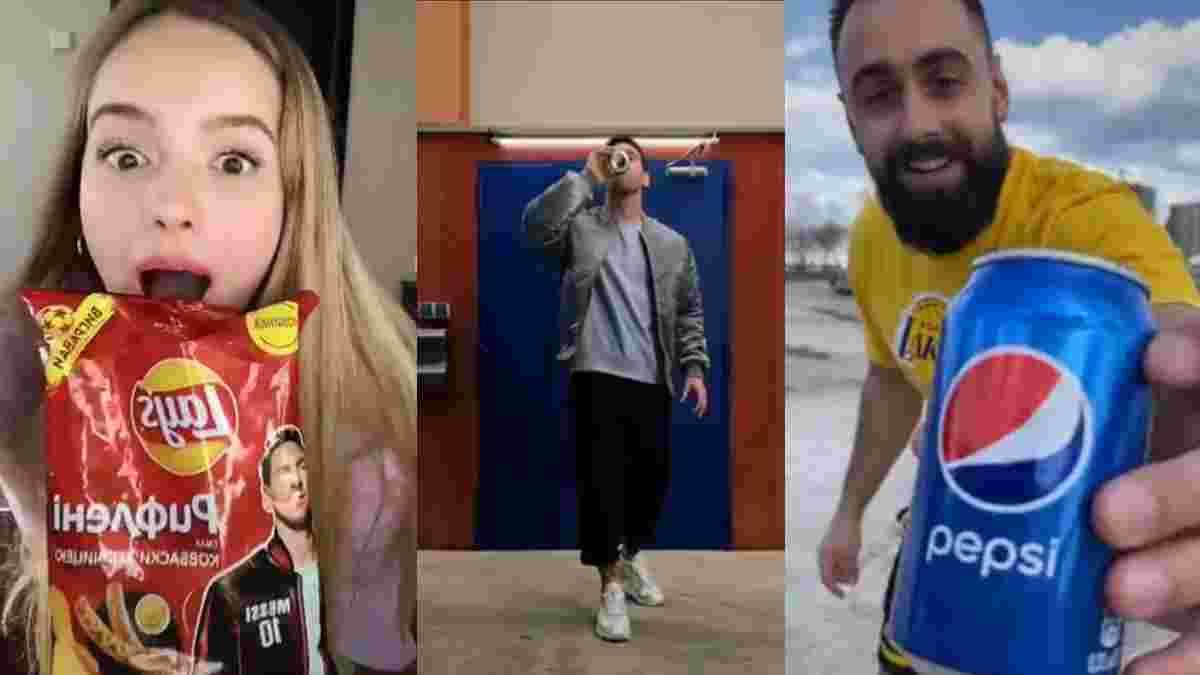 Прокачай свій TikTok разом з Pepsi та Lay's: долучайся до челенджу із футбольними зірками