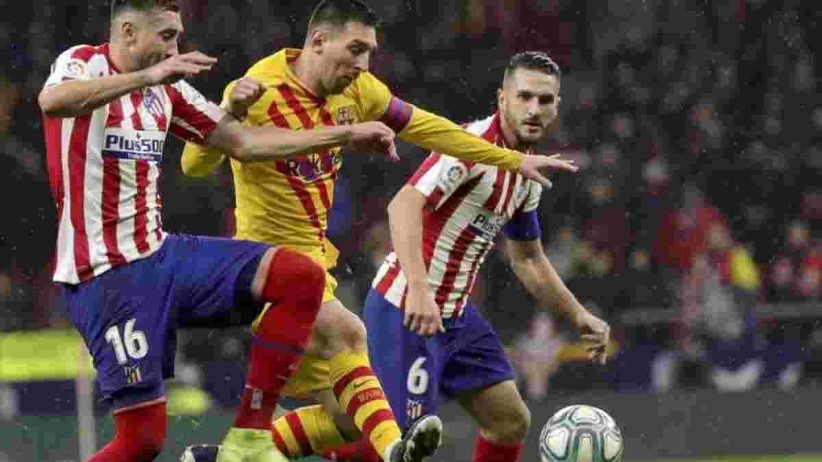 Барселона– Атлетіко: онлайн-трансляція матчу за 1 місце у Прімері