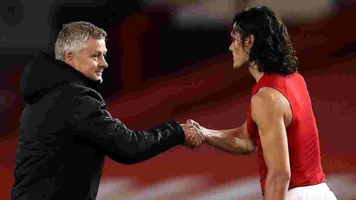 Кавани повторил рекорд Сульшера в Манчестер Юнайтед
