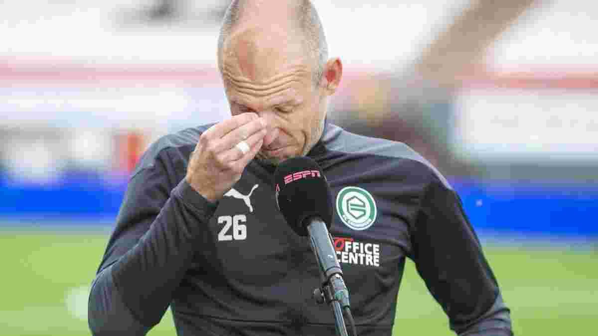 Роббен отметился двумя ассистами и не сдержал слез после матча – легенда хотел бы сыграть на Евро-2020