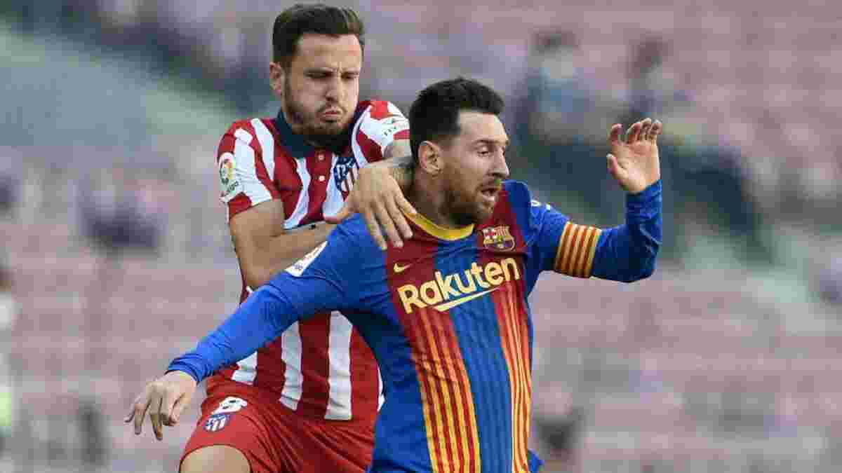 """Мессі """"допоміг"""" гравцям Атлетіко встановити оригінальне досягнення"""