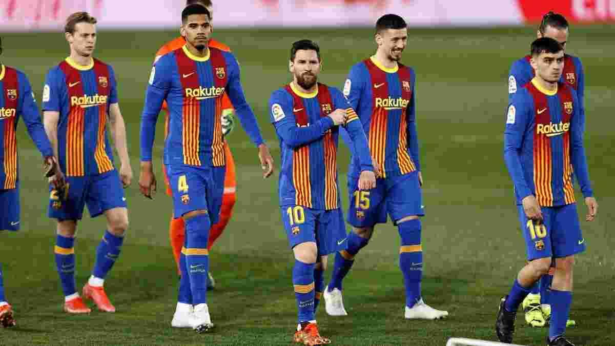 Барселона оголосила заявку на поєдинок з Леванте – Бускетс може зіграти після перелому щелепи