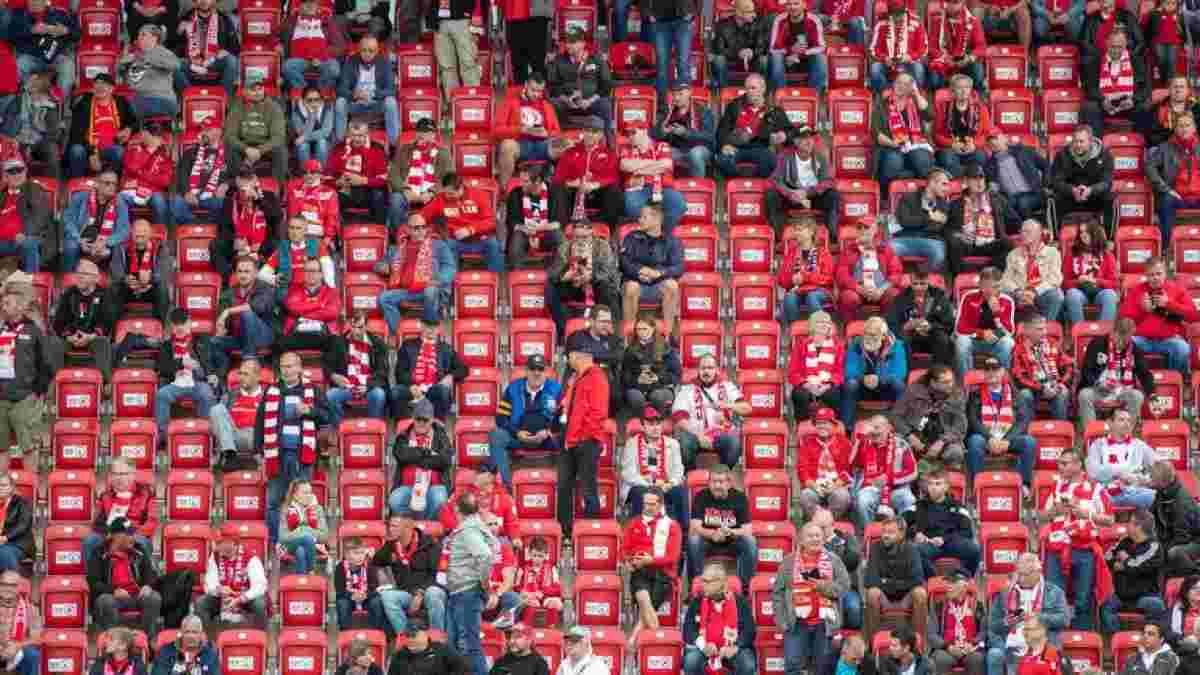Англійські вболівальники зможуть повернутись на стадіони на завершальні матчі сезону – офіційна заява АПЛ