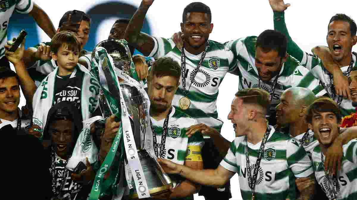 Спортінг підірвав Лісабон першим за 20 років титулом – атмосферний фестиваль із екс-зіркою Динамо