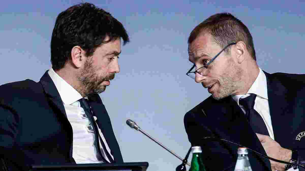 УЕФА открыл дело против ярых членов Европейской Суперлиги