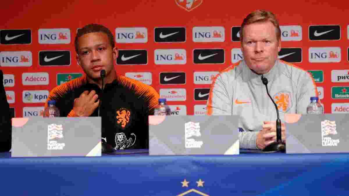 Депай согласовал контракт с Барселоной – переход зависит от судьбы Кумана