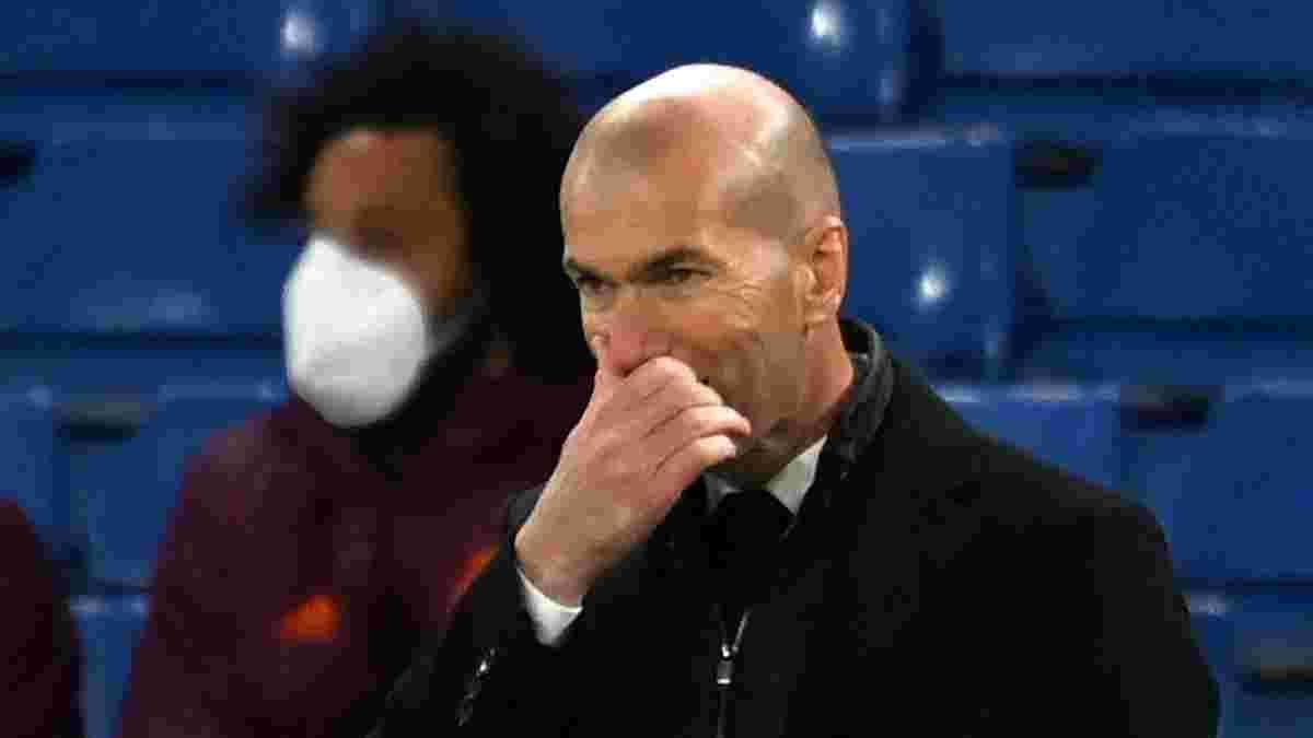 Зідан покине Реал по завершенні сезону, – TeleMadrid