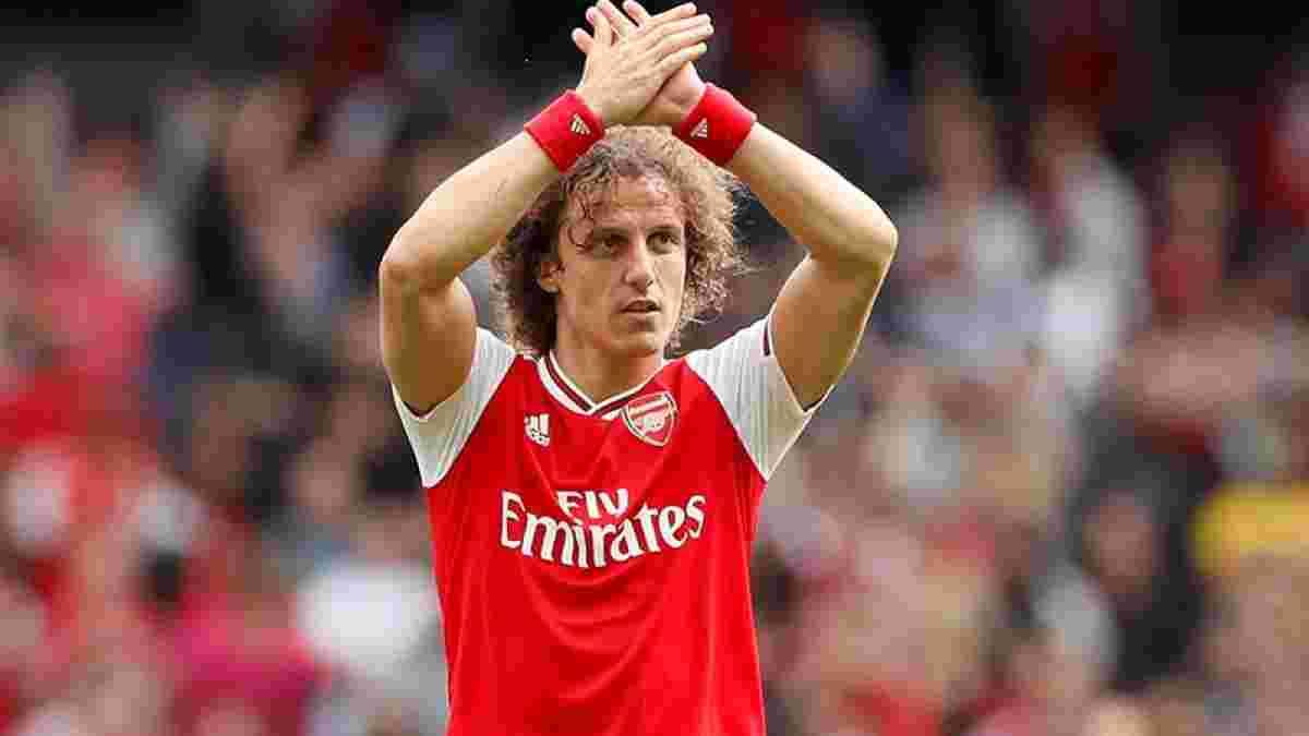 Давід Луїс влітку покине Арсенал, – The Athletic