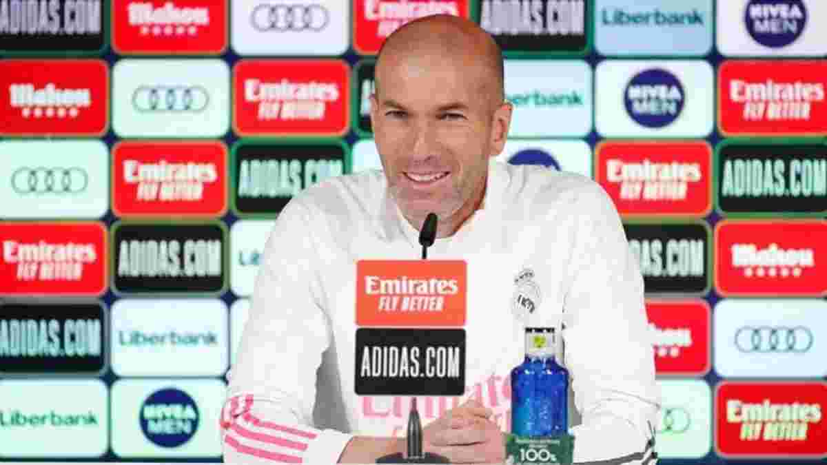 Зидан неоднозначно отреагировал на информацию о своем уходе из Реала